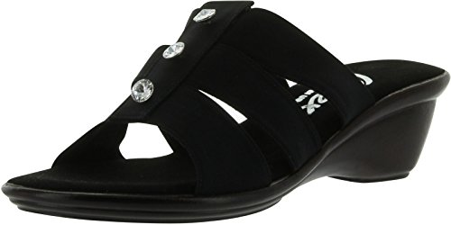 Onex Women's Miley Sandal,Black,6 M US by Onex