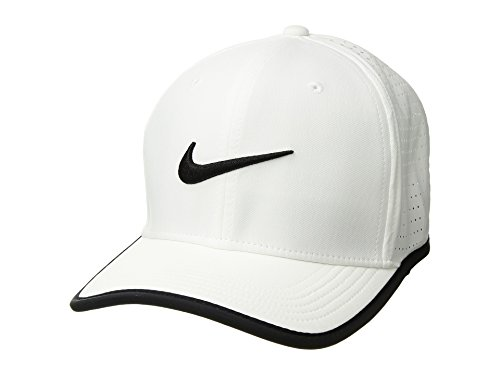 (Nike Mens Vapor Classic 99 Dri-Fit Training Hat White/Black)