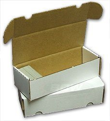 Bcw-550 Count Storage Box (Lieferumfang = 50) by Collector & 039;s Supply Co