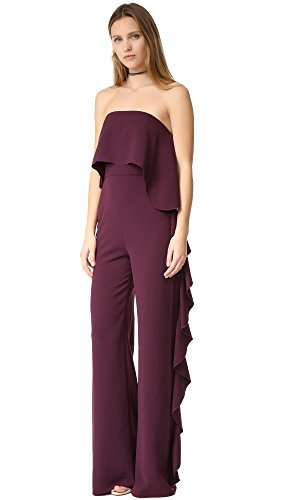 Alexis Women's Kendall Jumpsuit, Plum, Medium