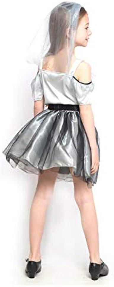 Partylandia Disfraz de Novia Cadáver Spiderweb para niña 10-12 ...