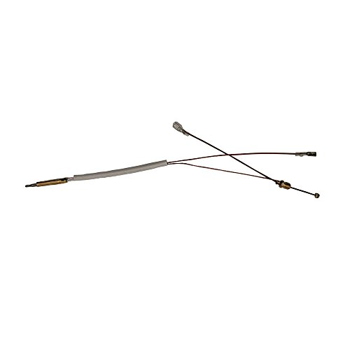 MENSI Gas Outdoor Patio Heater thermocouple Sensor (White Type 350mm Groove Type 4.8mm Terminal)
