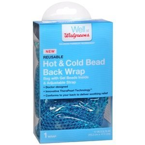 a19406ee13 Image Unavailable. Image not available for. Color: Walgreens Hot/Cold Beads  Back Wrap, 1 ea