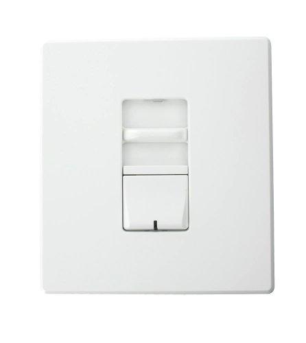 Leviton AWSMG-XCW Renoir II Preset Slide Dimmer, Ballast 2-Wire Control, Standard Heat Sink, Wide, 12.5 A, White by Leviton