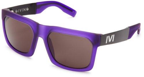 IVI Giving 02984-908 Wayfarer Sunglasses,Matte Purple,56 - For Carl Sunglasses Sale Zeiss