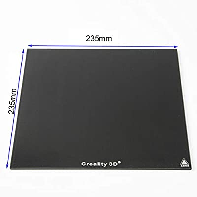 235-235mm New Creality 3D Ultrabase 3D Printer Platform Heated Bed Build Surface Glass Plate for CR-10 CR-10S …