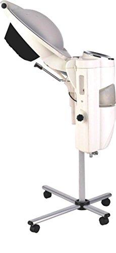 salon must have O3 Hair Steamer, Hair care machine, Hair Processer, standard edition Color white by SEYARSI