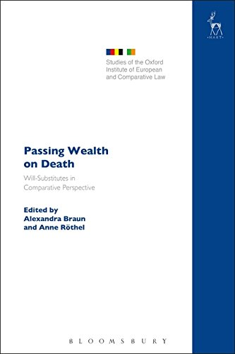 Passing Wealth on Death: Will-Substitutes in Comparative Perspective (Studies of the Oxford Institute of European and Comparative Law)
