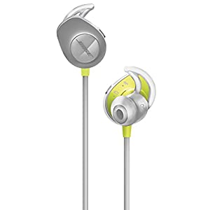 Bose SoundSport, Wireless Earbuds, (Sweatproof Bluetooth Headphones for Running and Sports), Citron