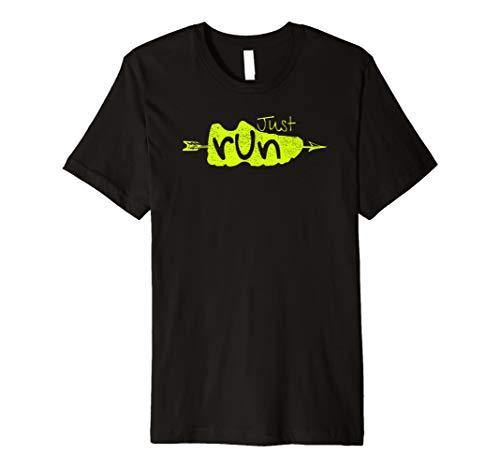 (Just Run Tee Shirt XC Runner Cross Country Runners)