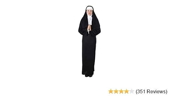 Amazoncom Rubies Nun Costume Adult Costume Clothing