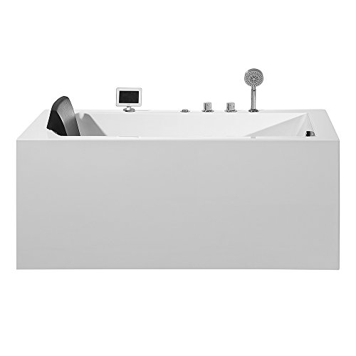 ARIEL Platinum PW1545930RW1 Whirlpool Bathtub 59