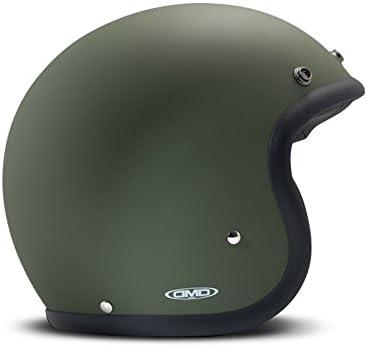 Amazon.es: DMD - Casco de Moto Unisex Verde Mate Medium Verde
