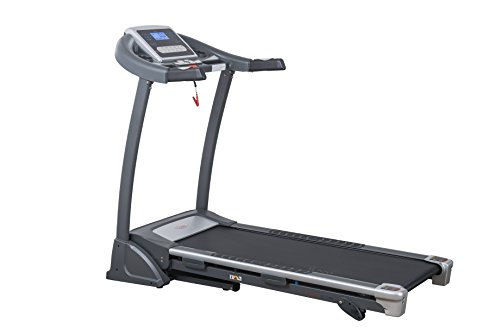 Sunny Health & Fitness SF-T7604 Motorized Treadmill, Grey