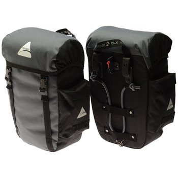 Axiom Gear Seymour Dlx 20 Rear Panniers Black by Axiom