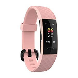 Noise ColorFit 2-Smart Fitness Band with Coloured Display, Activity Tracker with Steps Counter, Heart Rate Sensor, Calories Burnt Count, Menstrual Cycle Tracking for Women (Dusk Pink)