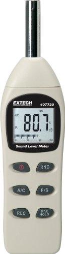 Extech 407730 40-to-130-Decibel Digital Sound Level Meter