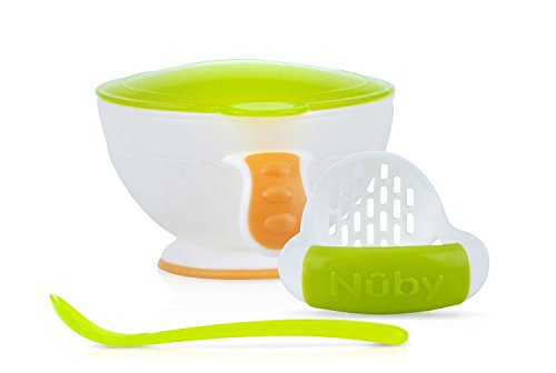 From Usa Nuby Garden Fresh Mash N Feed Bowl With Spoon And