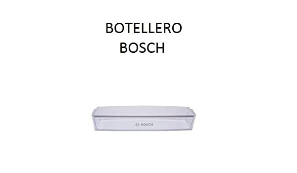 ESTANTE BOTELLERO FRIGORIFICO BOSCH 744473: Amazon.es: Hogar