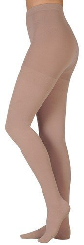 Juzo 3512ATFF06 III Dynamic 30-40 mmHg Full Foot Pantyhose Body - White44; III - Medium by Juzo