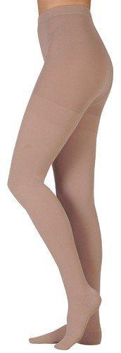Juzo 3512ATFF06 V Dynamic 30-40 mmHg Full Foot Pantyhose Body - White44; V - Extra Large by Juzo