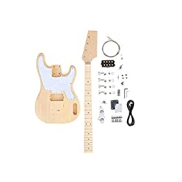 DIY Electric Bass Guitar Kit – 70s TL Bass Build Your Own Bass Kit