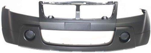 Vitara Replacement Bumper - Crash Parts Plus Primed Front Bumper Cover Replacement for 2006-2008 Suzuki Grand Vitara