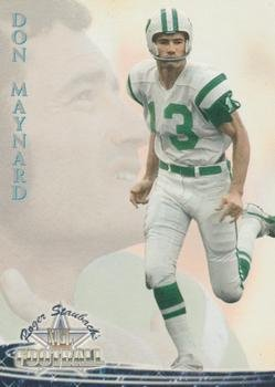 Maynard Autographed New York Jets - Don Maynard football card (New York Jets) 1994 Ted Williams Card Co. #42 Wide Receiver