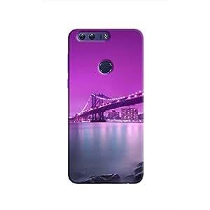 Cover It Up - Bridge-Purple Honor 8 Hard Case