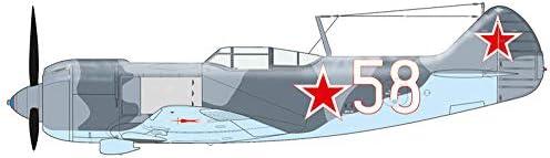 エデュアルド 1/48 LA-5 プラビニ ・LA-7 ドマ 2機セット プラモデル