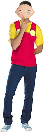 [Family Guy - Stewie Adult Costume Kit Red Plus (50-52)] (50's Costumes For Guys)