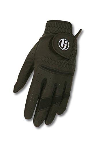 HJ Glove Men's Gripper II Golf Glove, Right Hand, X-Large, Black - Mens Gripper Gloves