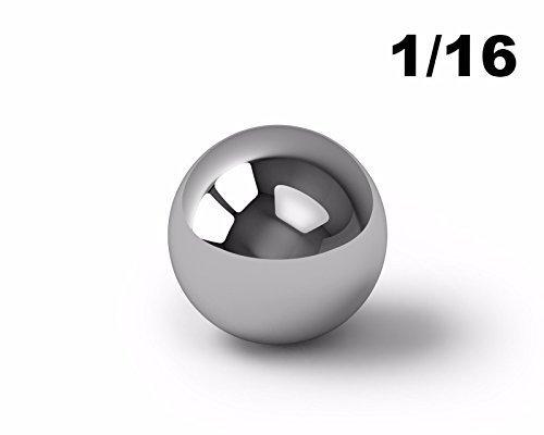"1/16"" Inch 440 Stainless Steel Ball Bearings G5-25 Balls"