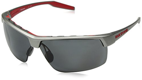 Native Eyewear Hardtop Ultra XP Sunglass, Platinum, Gray -