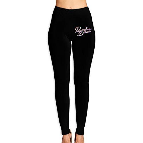 ETQYB Panic at The Disco Women Adult Slim Waist Yoga Workout Pant Sexy Workout Leggings -