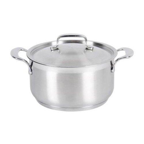 Karl Kruger Rhodos Stainless Steel Series Casserole Pot with Lid, 1.3 l Karl Kruger_100016 RH