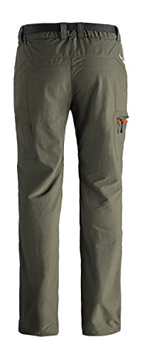 MIER Women's Outdoor Pants Cargo Pants for Hiking Camping Travel, Water Resistant