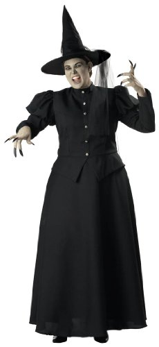 In Character Costumes 139928 Wicked Witch Elite Collection Adult Plus Costume - Black - XXX-Large (Wicked Witch Fancy Dress)