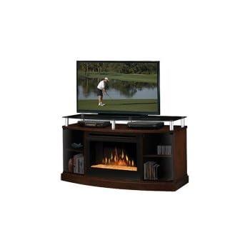 Amazon.com: Dimplex Windham Media Console Electric Fireplace ...