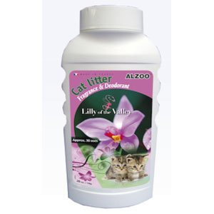 Alzoo Cat Litter Deodorizer - Lily Of The Valley
