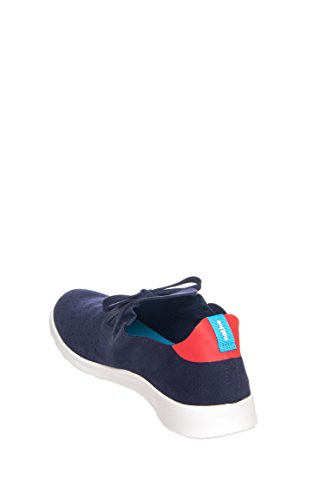 Native Unisex Apollo Moc Mode Sneaker. Regattan Blå / Fackla Röd / Vit