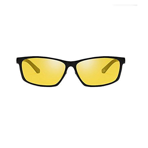VeBrellen de 100 Night Lunettes VS012 Black UV400 Driving soleil polarisées Sport Lens anti Frame Lunettes Homme wUwq0rF5