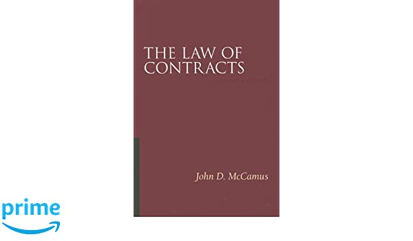 THE LAW OF CONTRACTS MCCAMUS EPUB DOWNLOAD