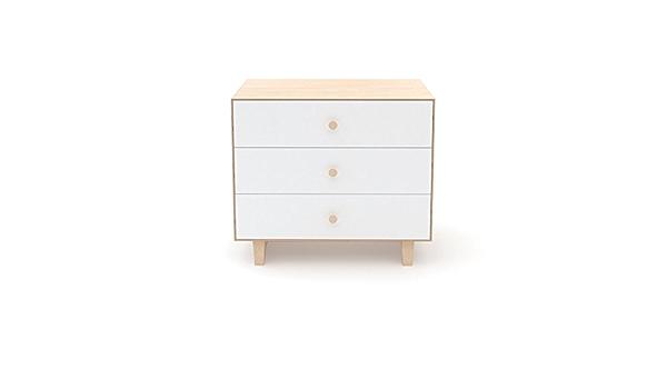 Oeuf Merlin 3 Drawer Dresser In Birch With Rhea Base Baby Amazon Com