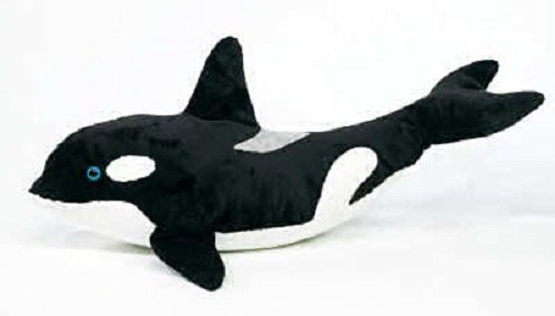 40 Large Orca Killer Whale Plush Stuffed Animal Toy By Fiesta Toys