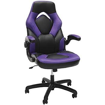 Amazon Com X Rocker Agility Gaming Chair Purple Sports