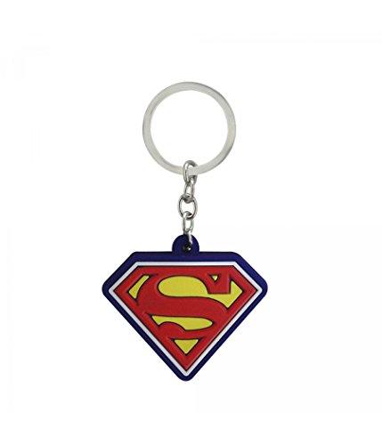 Chaveiro Emborrachado Super Homem