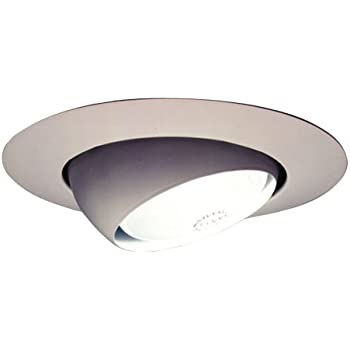 Halo 78P 6 Inch Eyeball Light Trim, White