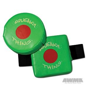 The Squeaky Thing - Green - Square (Bag Mount)