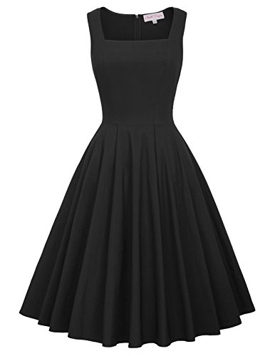 la belle black dress - 9